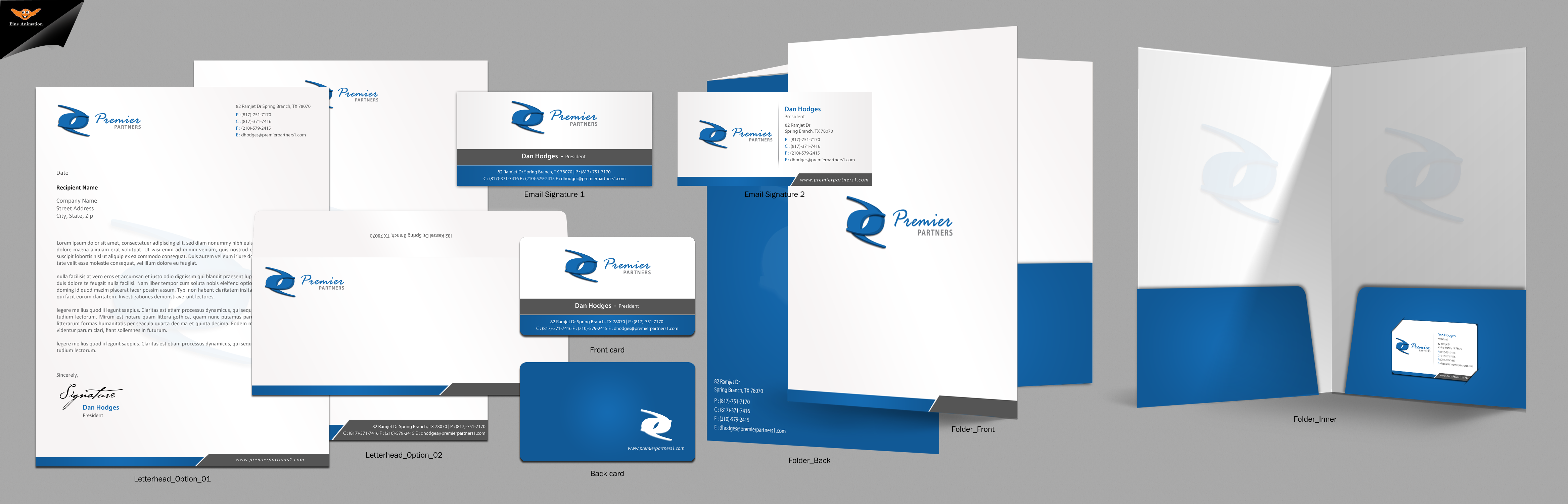 Stationary For Premier Partners - Consulting