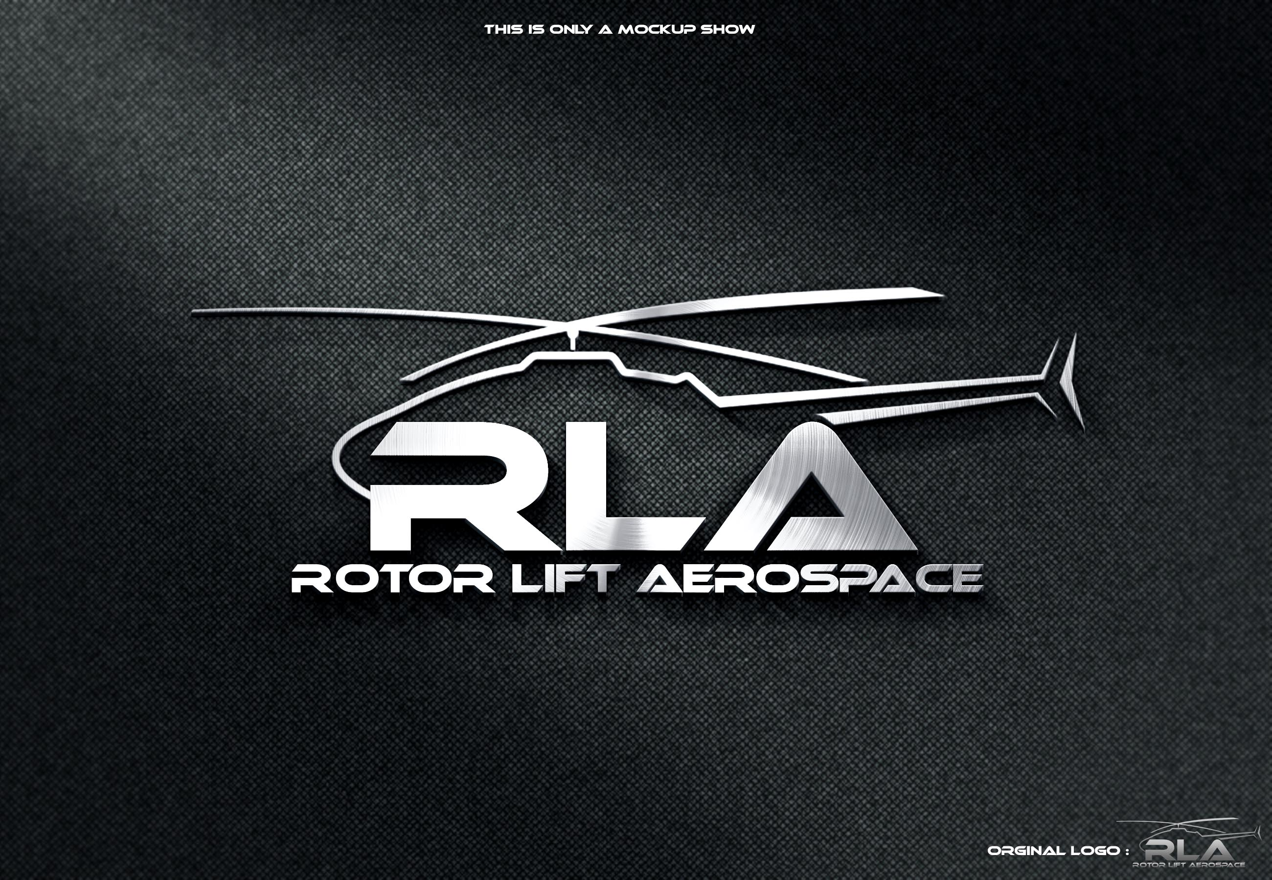 Logo for a Helicopter Repair company - Aviation Logo