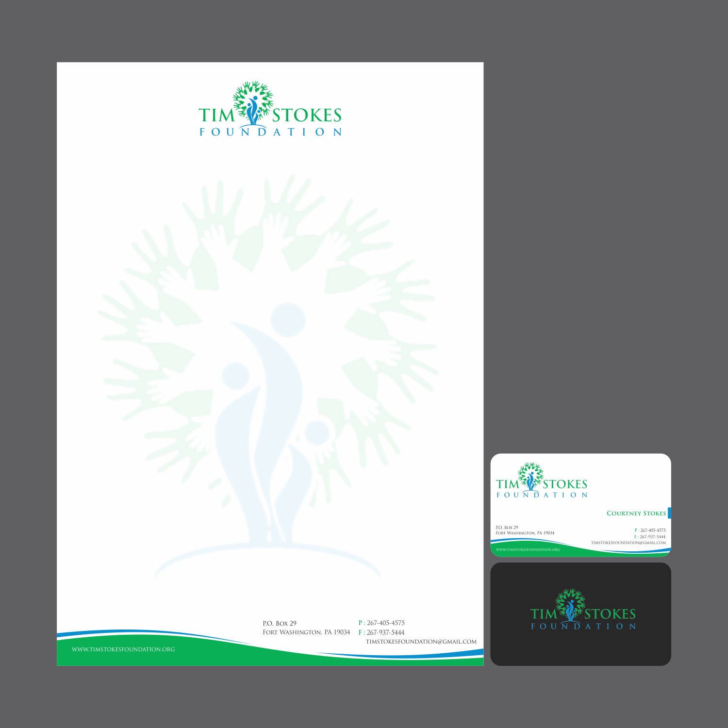 Business card and letterhead for a non profit - Miscellaneous
