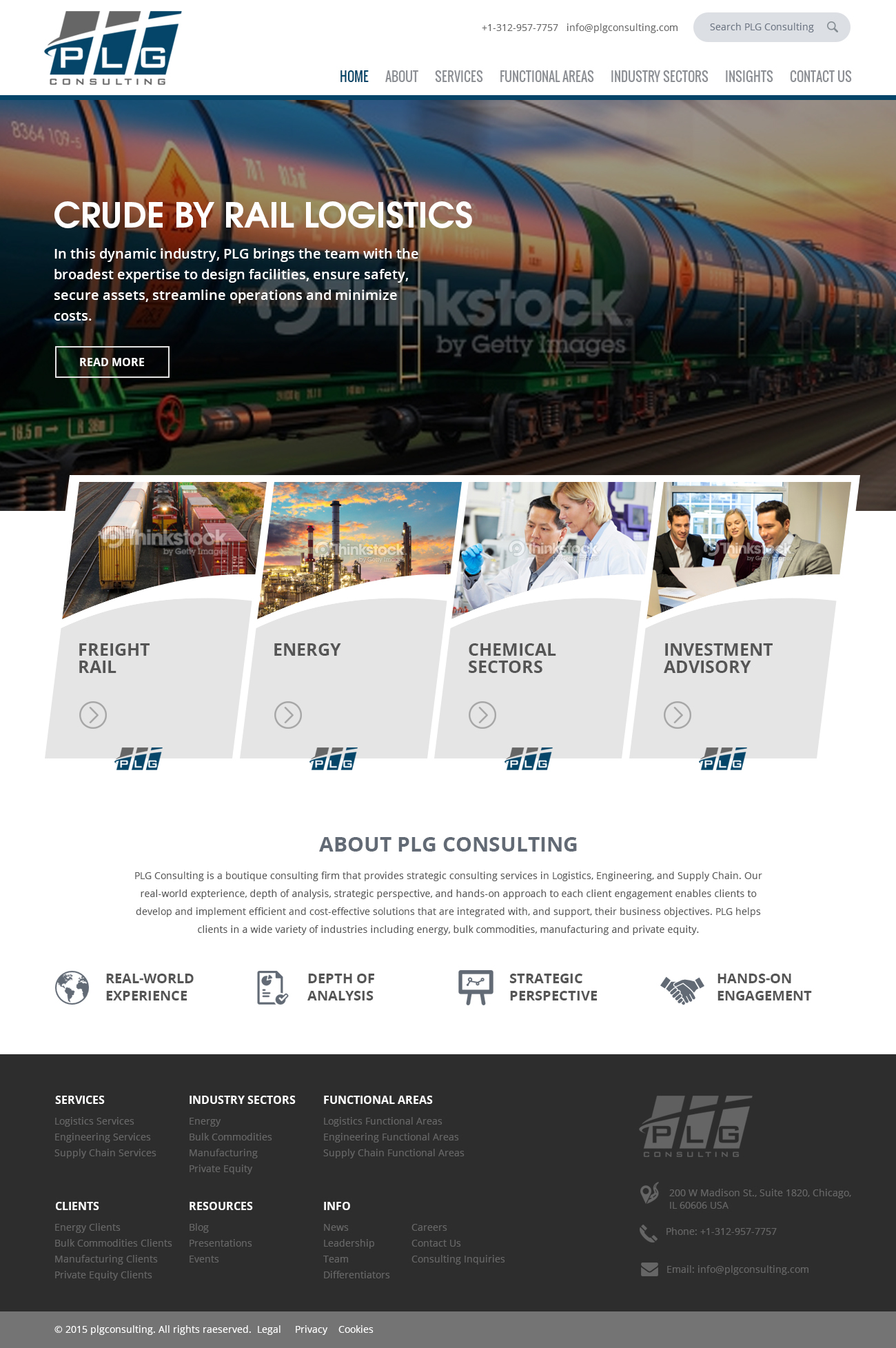PLG Consulting Website Design - Consulting