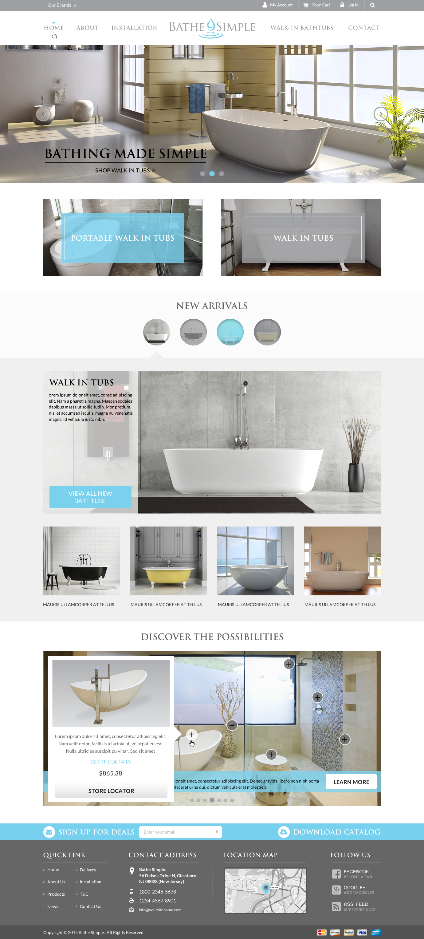 Bathe Simple - Hospitality Industry
