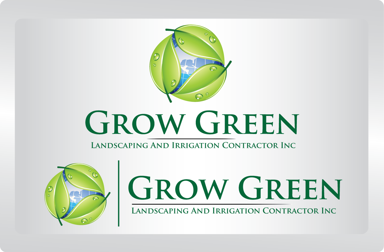 Grow Green - Construction Logo