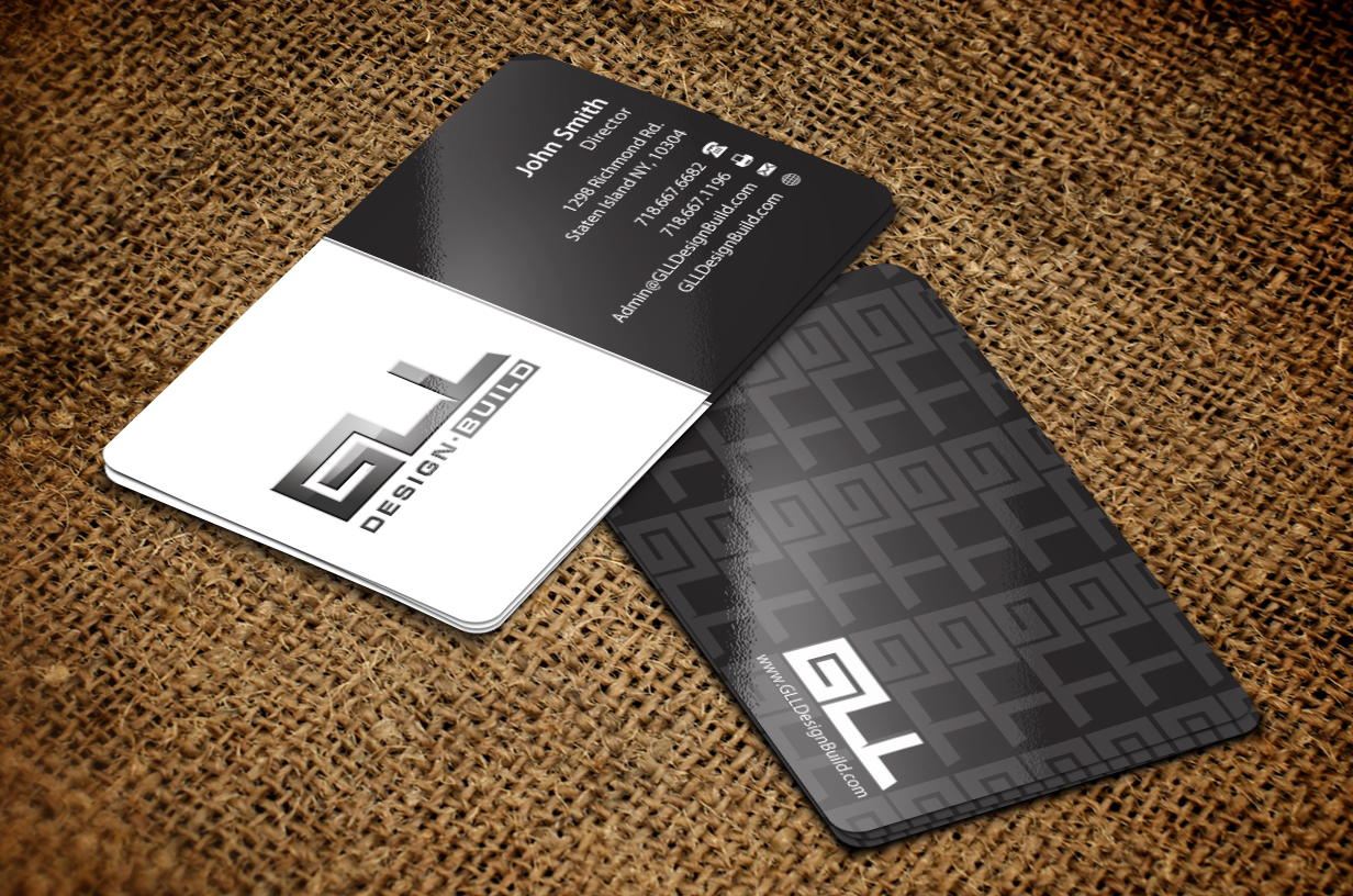 Stationary and business cards for design build firm - Architecture