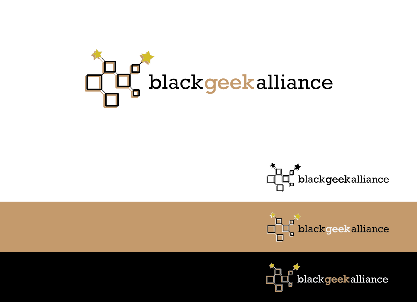 Hip logo for a geek alliance - Blogging Logo