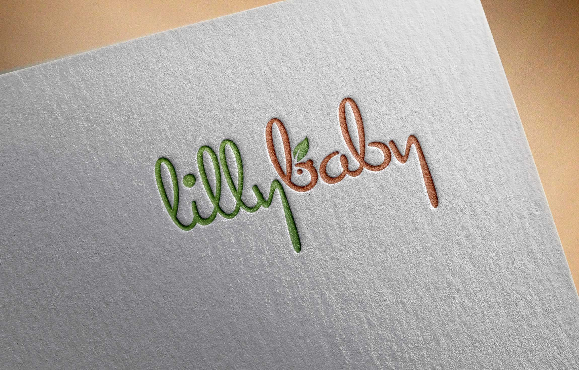 Well Defined Logo Opportunity for Children Company - Lilly Baby - Children Logo