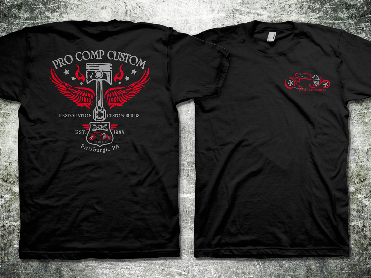 Hot Rod Shop T-shirt - Automotive