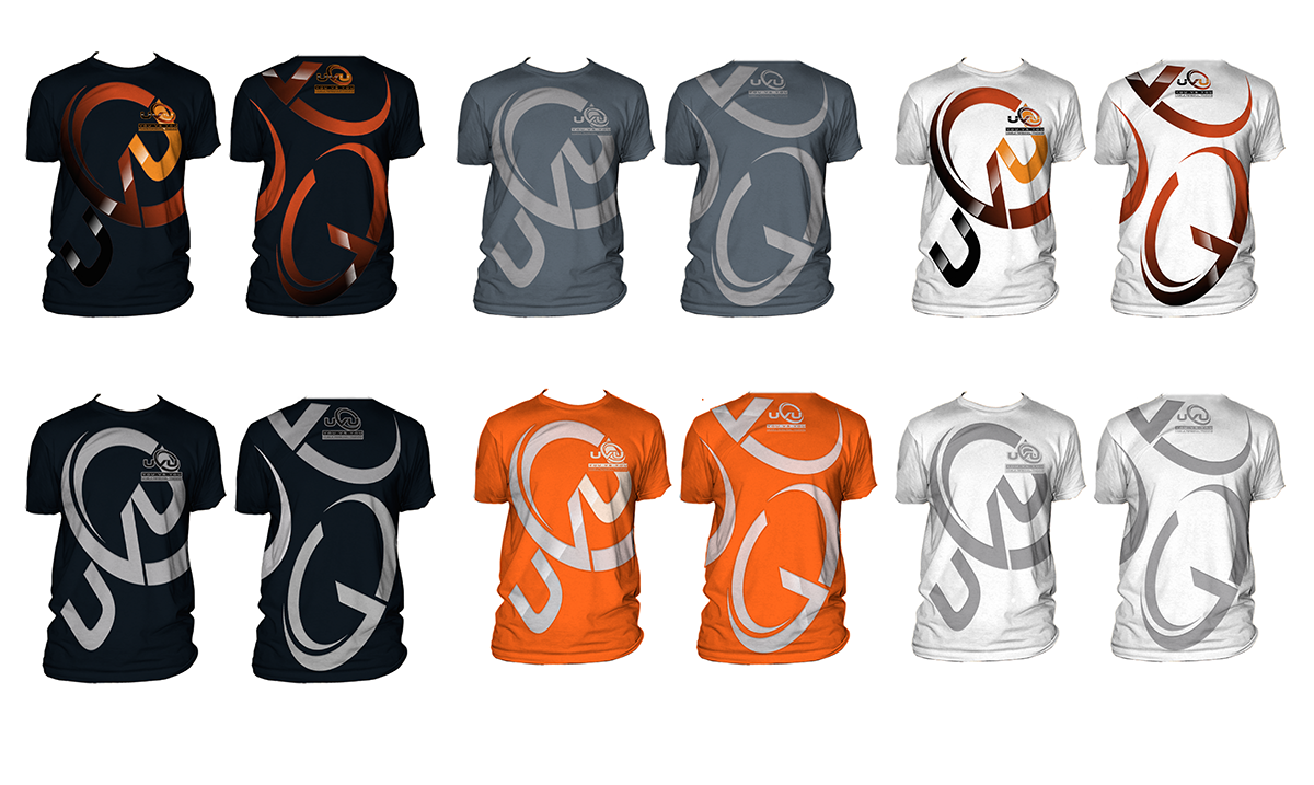 Modern T-shirt design for fitness company - Sports
