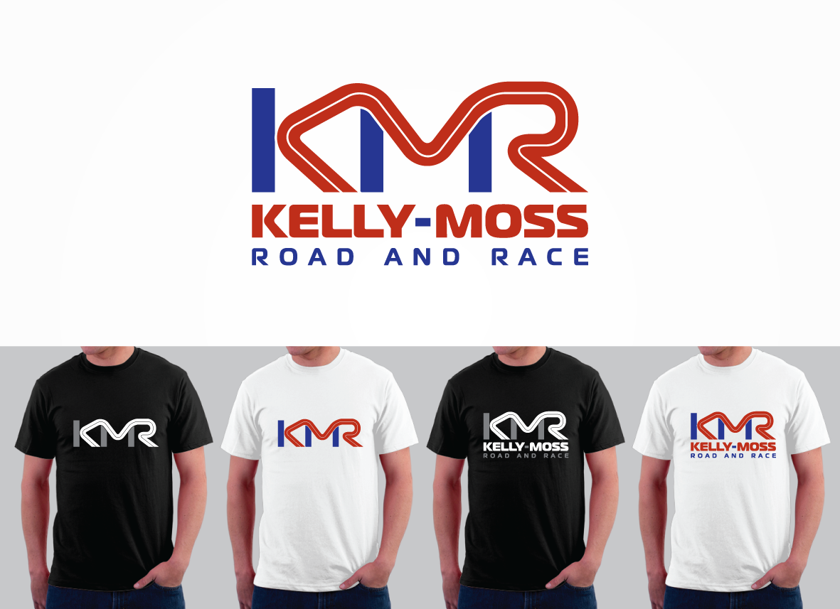 Kelly Moss Road and Race / KMR - Automotive Logo