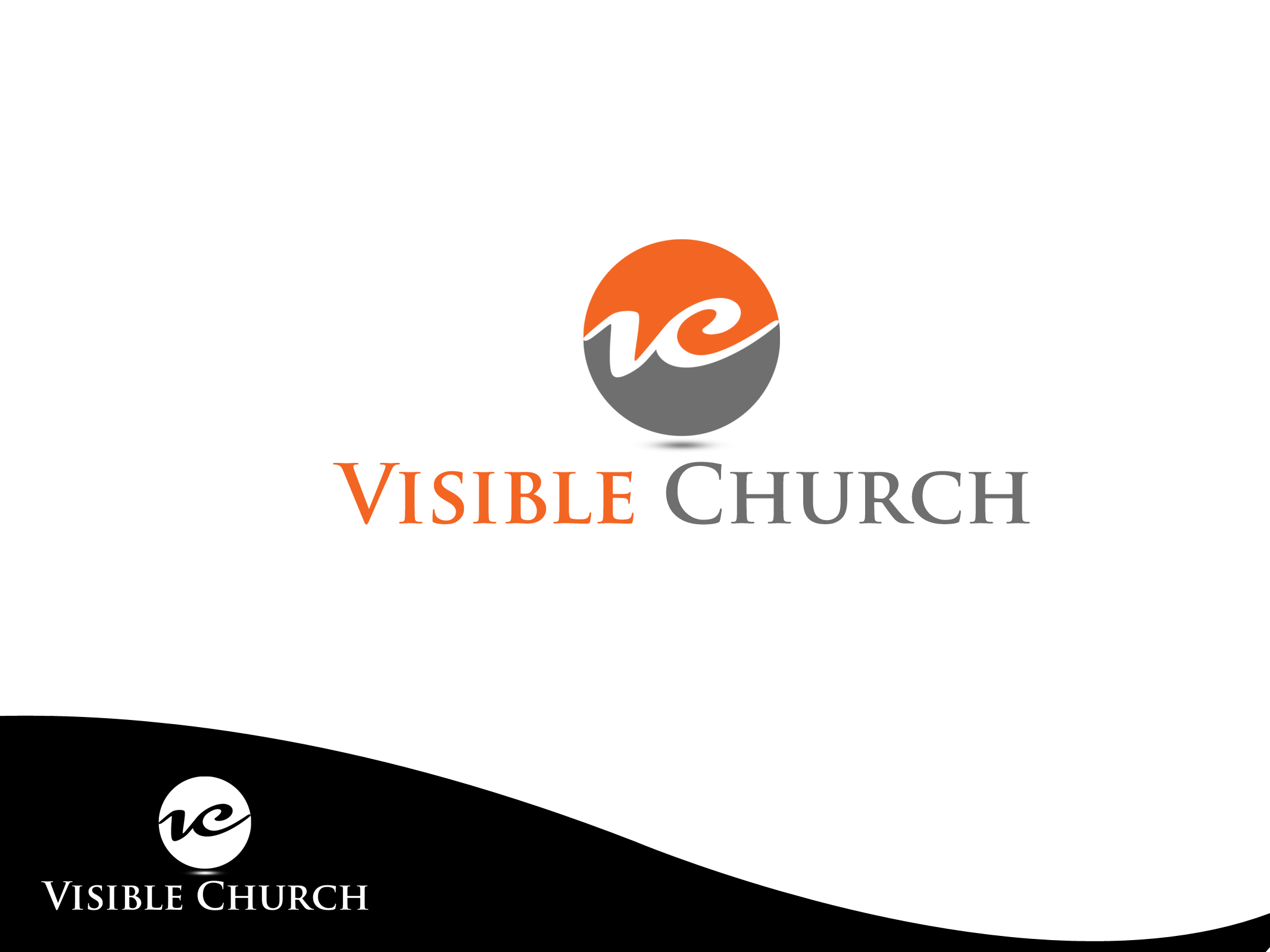 Logo for a Creative and Christian Church - Religion and Spirituality Logo