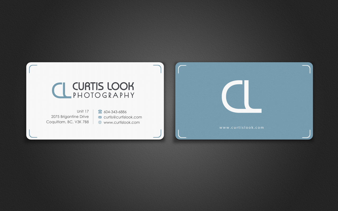 Kickass business card design for a photography business - Photography