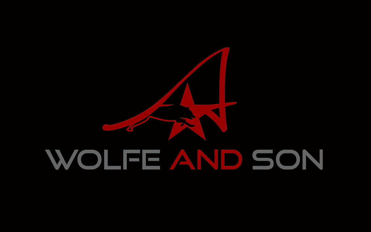 A. Wolfe and Son family business multi faceted business with realistate, equipment, engineering, etc - Research and Development Logo