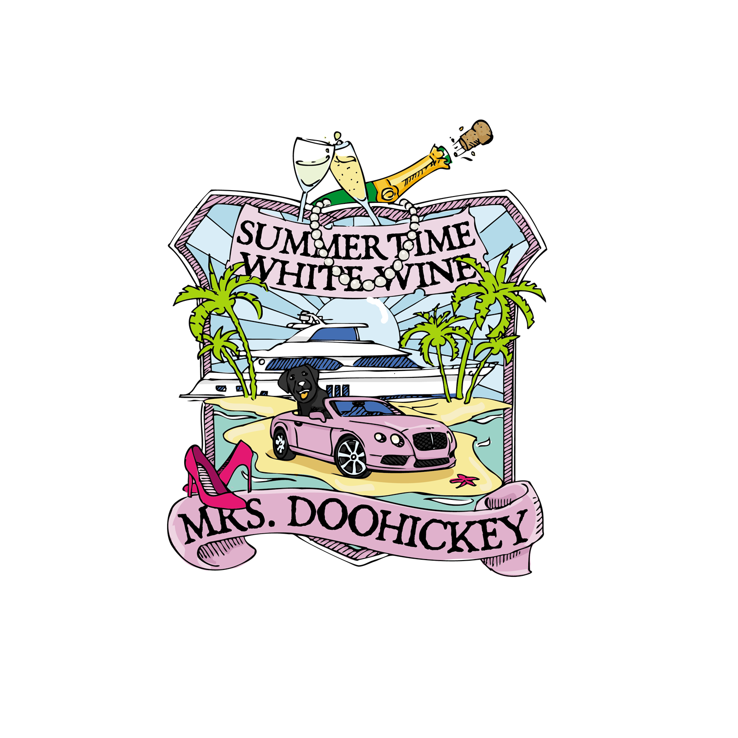 Mrs. Doohickey Logo  - Events Logo