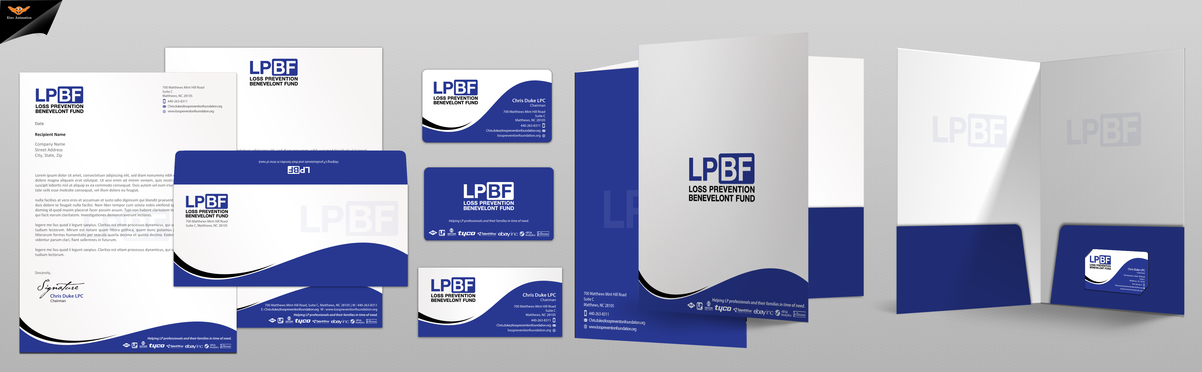 Business card for professional charitable organizaton - Fund Raising