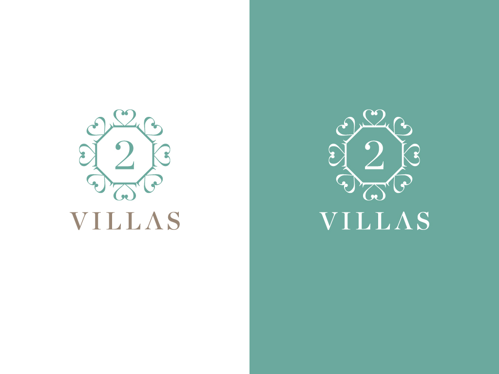logo for luxury villa on beach in Sri Lanka - Hospitality Industry Logo