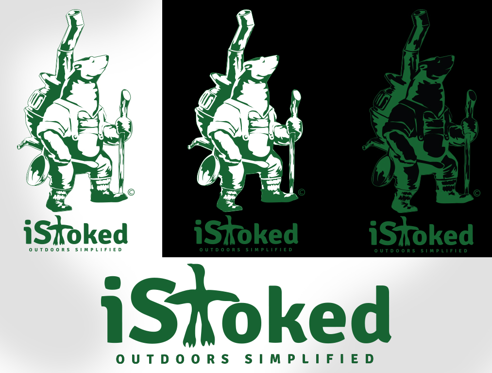 iStoked - Outdoors Logo