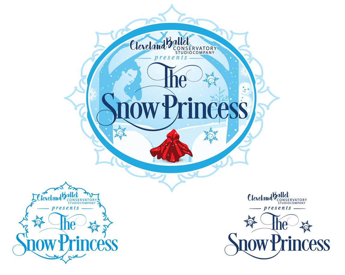 The Snow Princess - Art Logo
