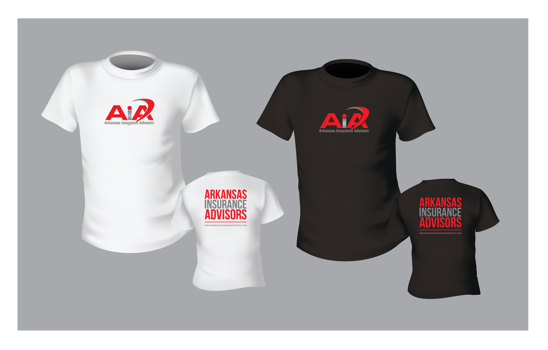 Branded t-shirt for insurance agency - Financial Services