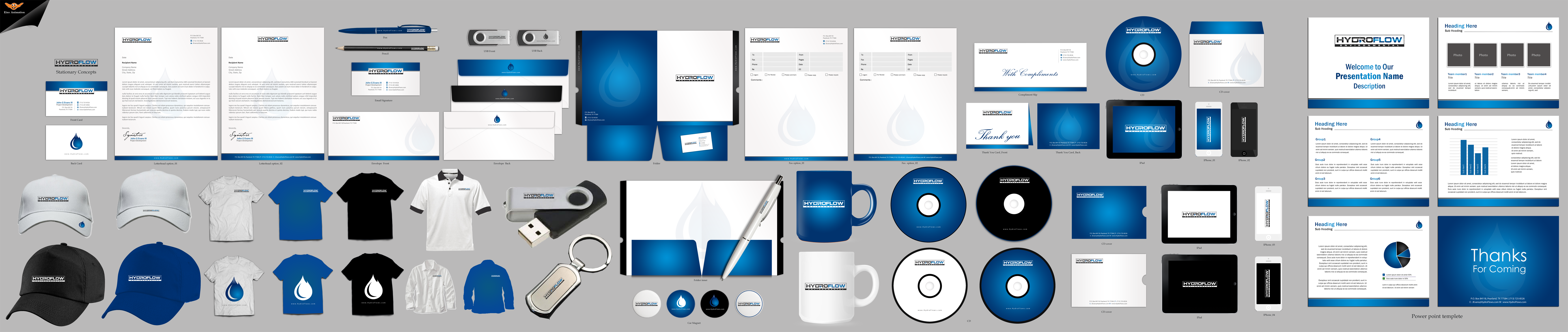 Clean, modern business cards & stationary for Industrial Cleaning Company (PetroChemical, Refinery) - Environment