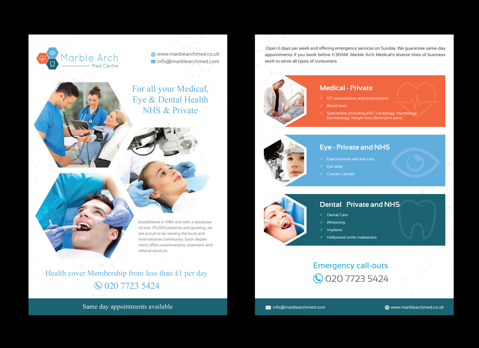 Medical, Eye & Dental Flyer - Medical