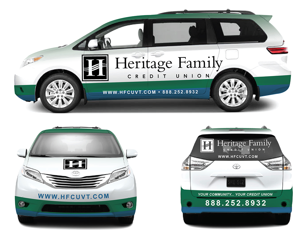 Van Wrap for A Credit Union - Financial Services