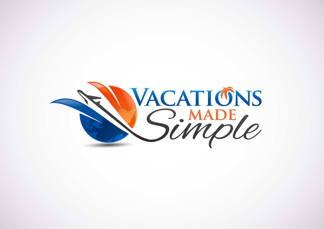 logo for family travel agency by vactionsmadesimple