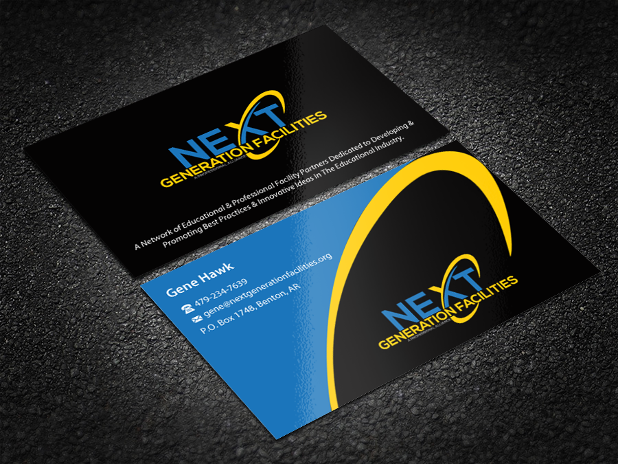 Business cards and stationary for Next Generation Facilities - Education