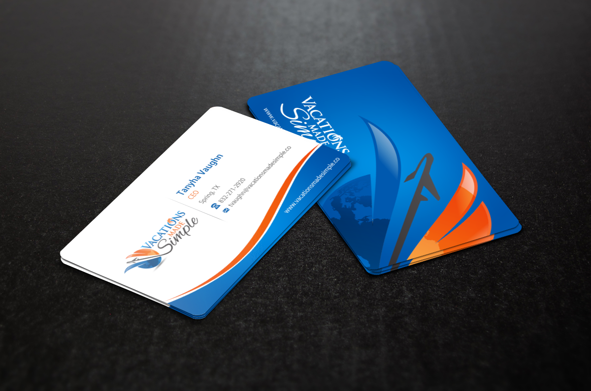 Travel Agency business card  - Travel