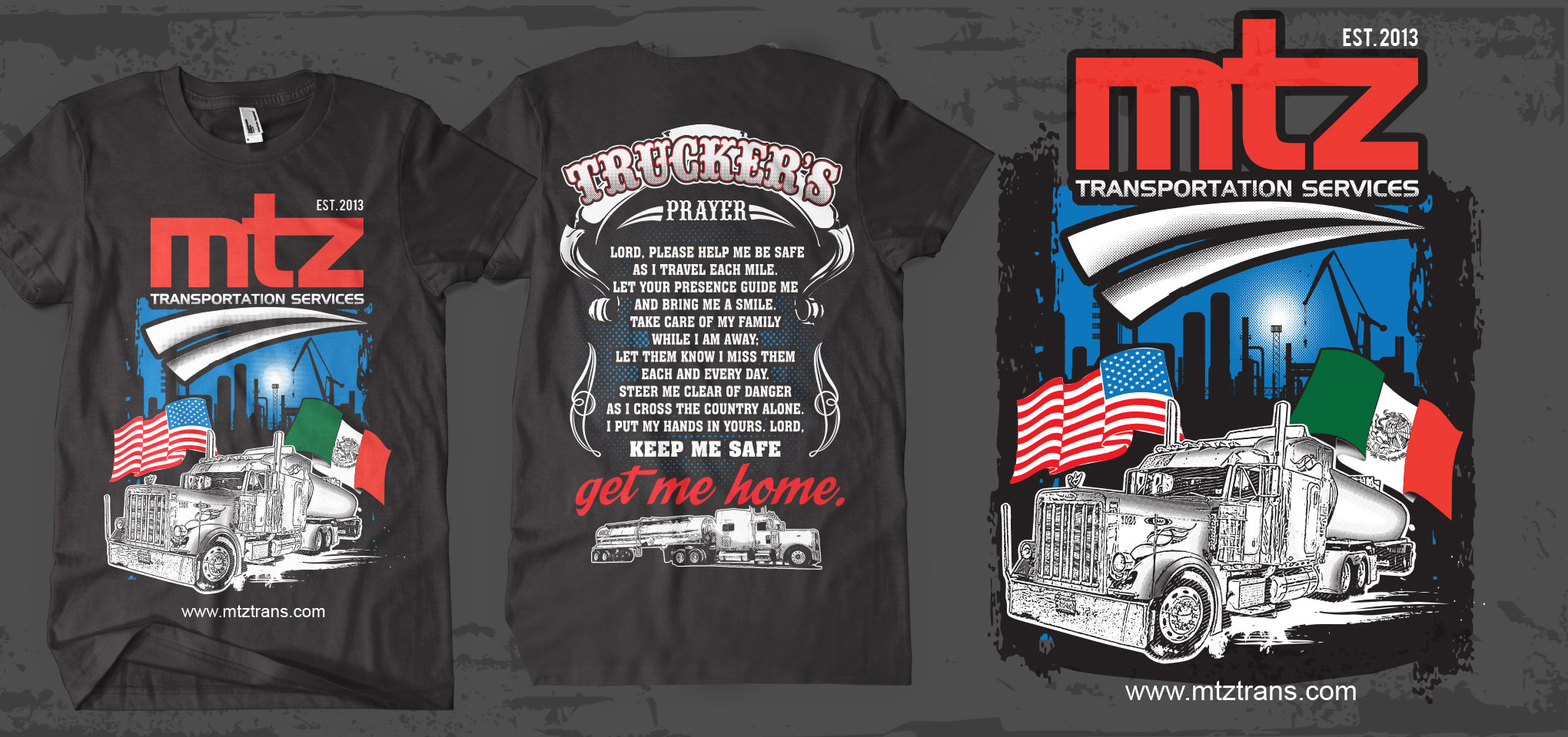 MTZ Transportation Services T Shirts - Transportation