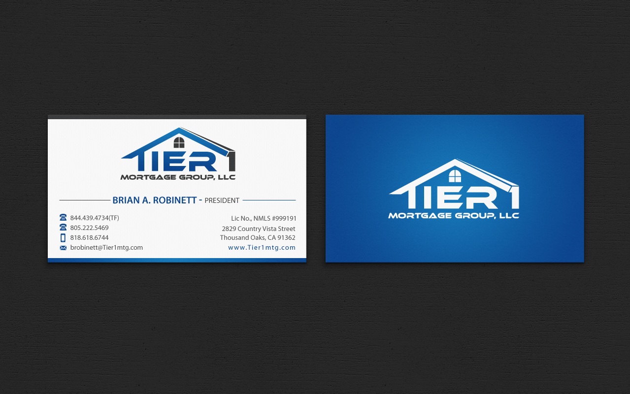 Business Cards and Stationary - Financial Services