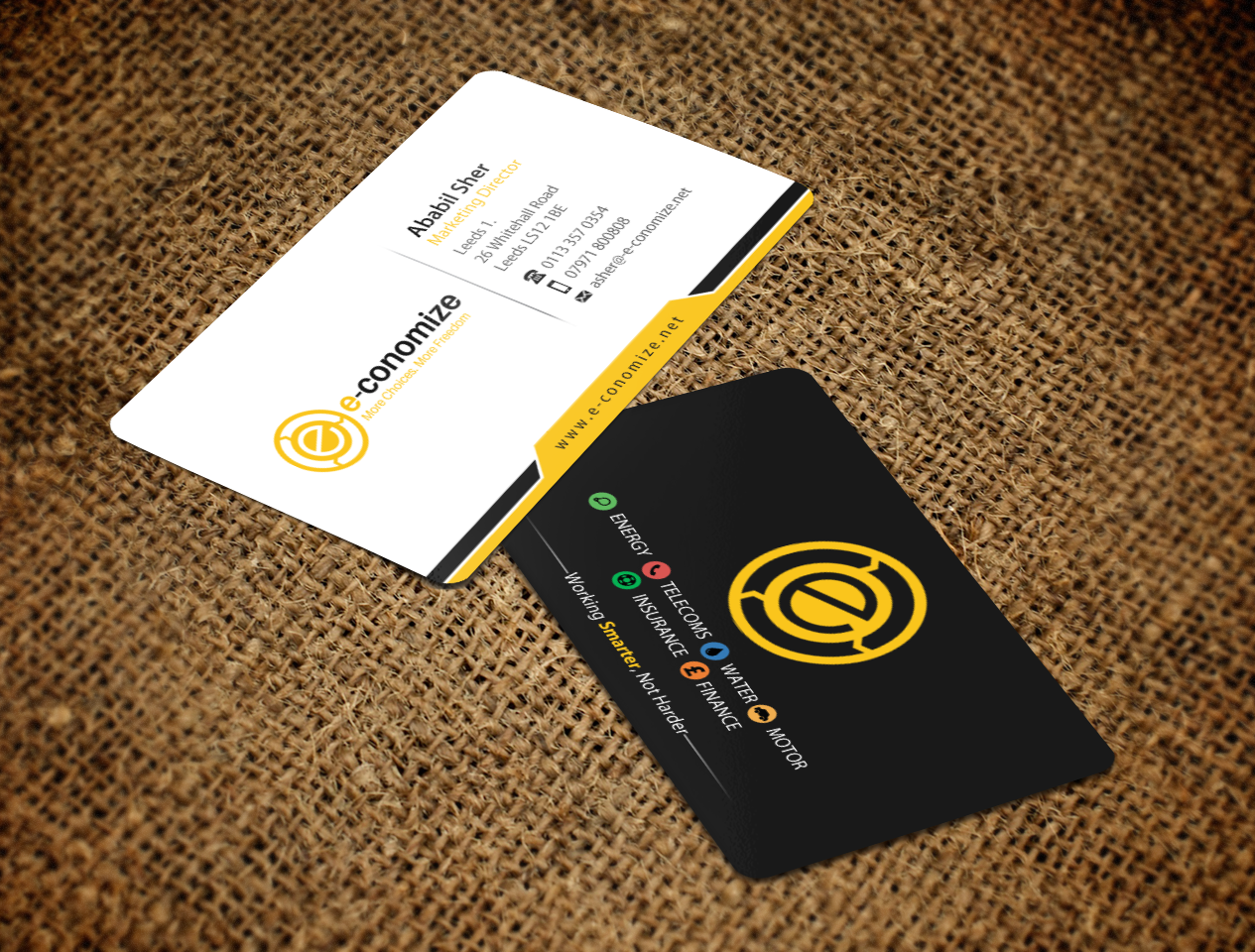 Business cards  - Marketing