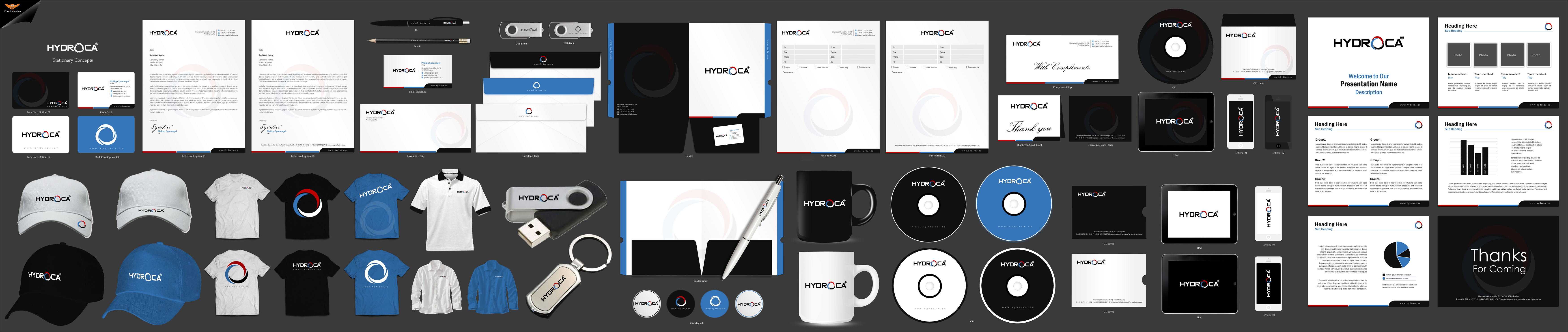 Hydroca Business Cards etc. - Retailers