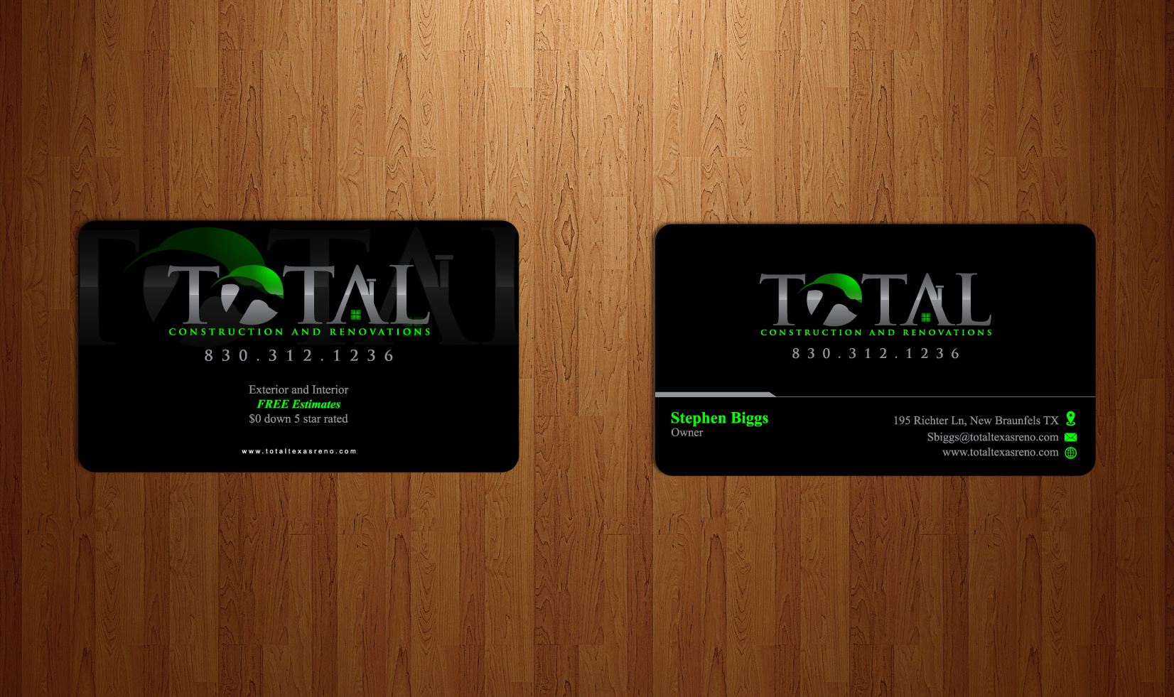 TOTAL CONSTRUCTION & RENOVATIONS  - Construction