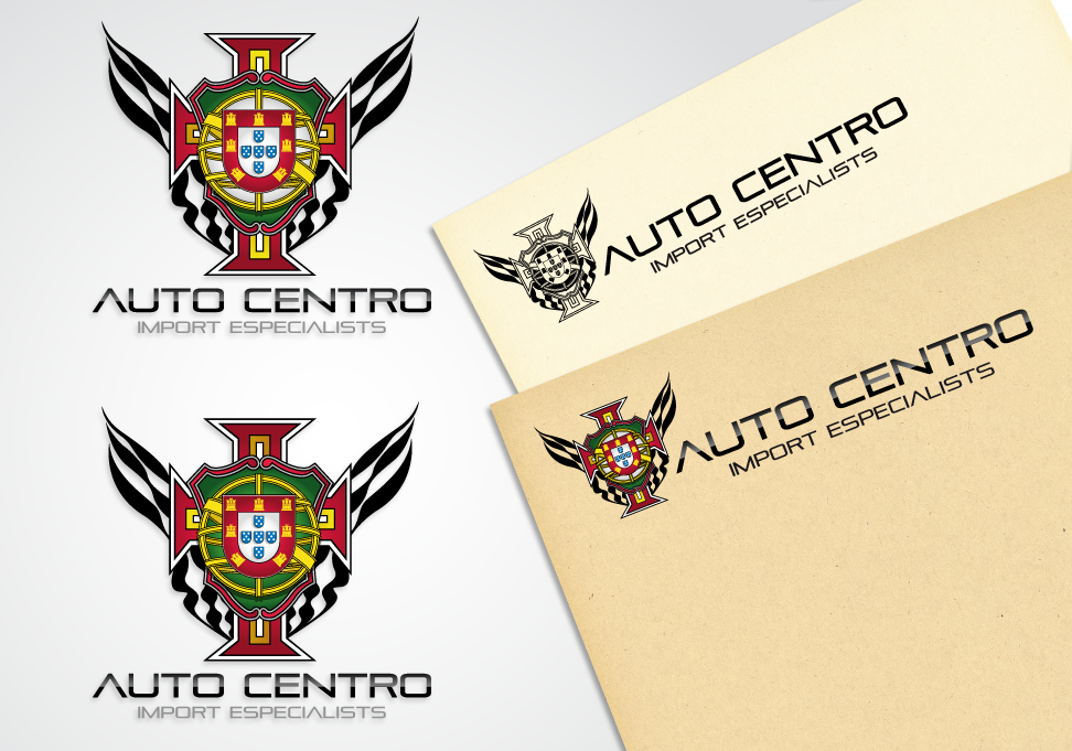 Auto Centro  - Automotive Logo