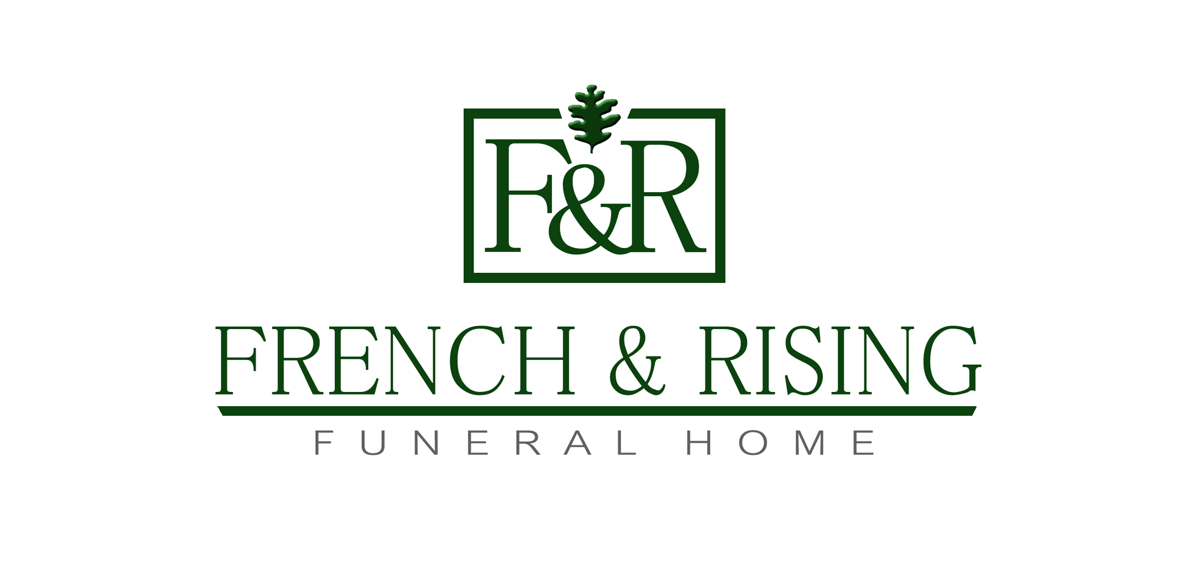 French And Rising Funeral Home Logo Design By Tkenney