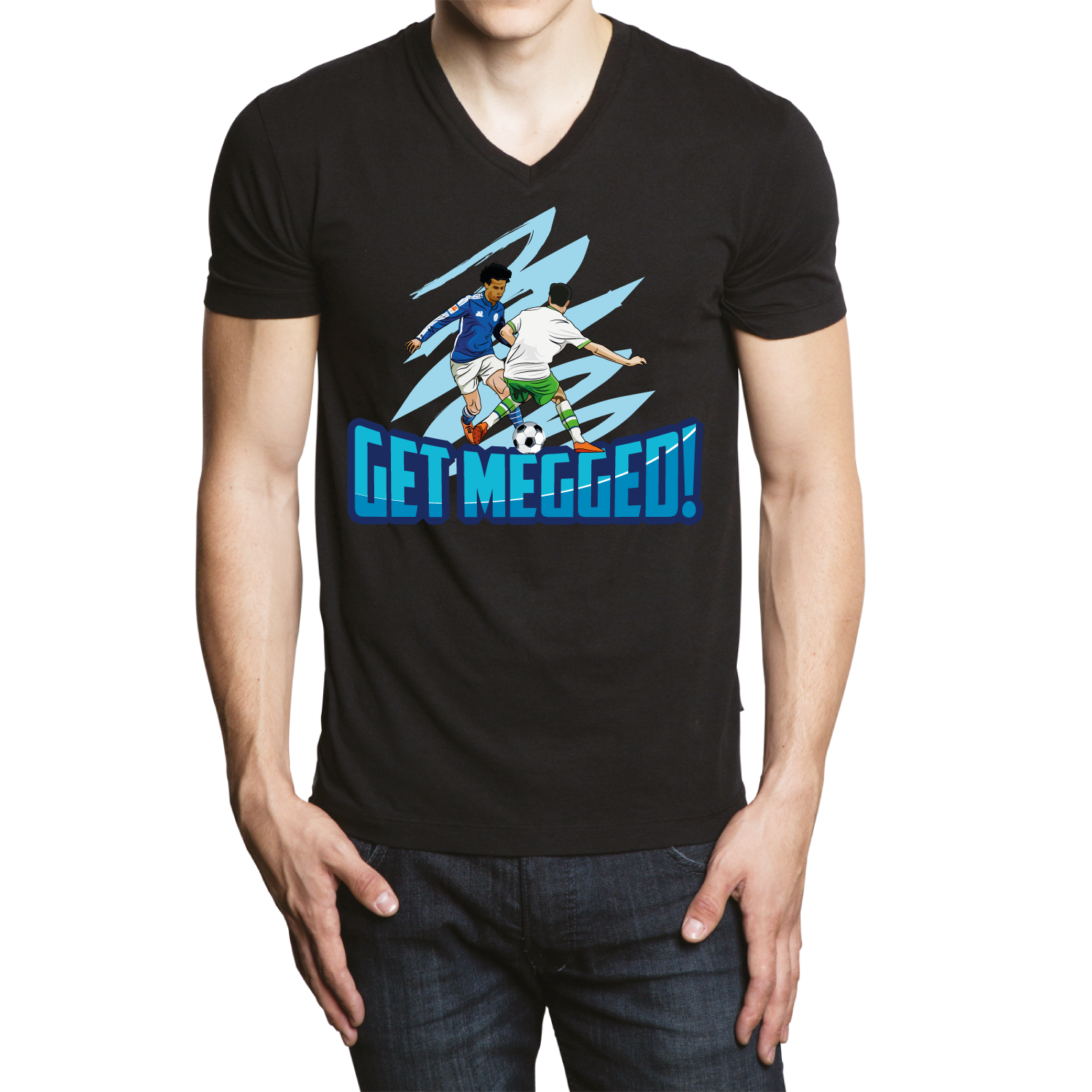 T shirt design for Get Megged! - Sports