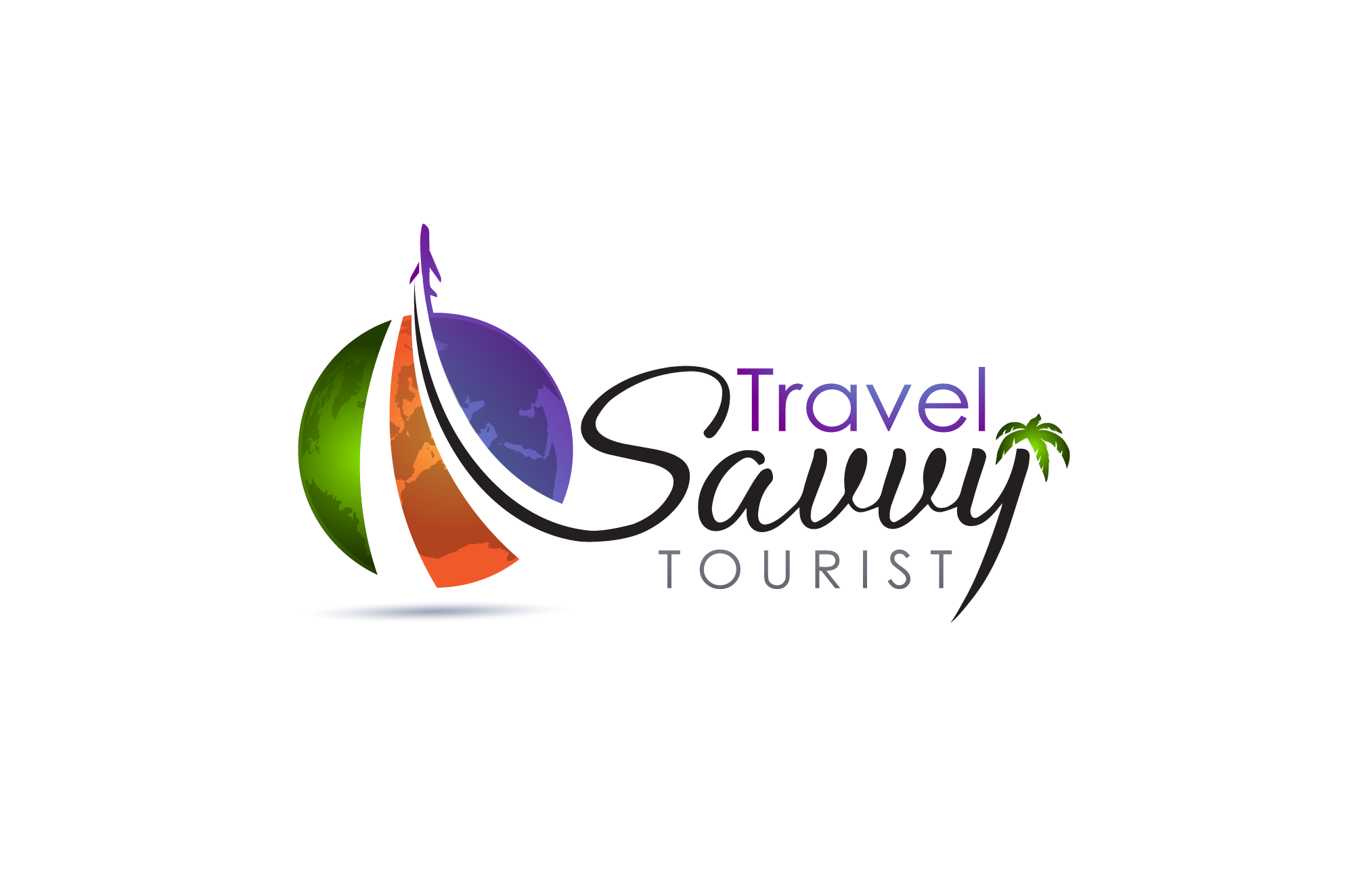 Logo for a travel blog - Travel Logo