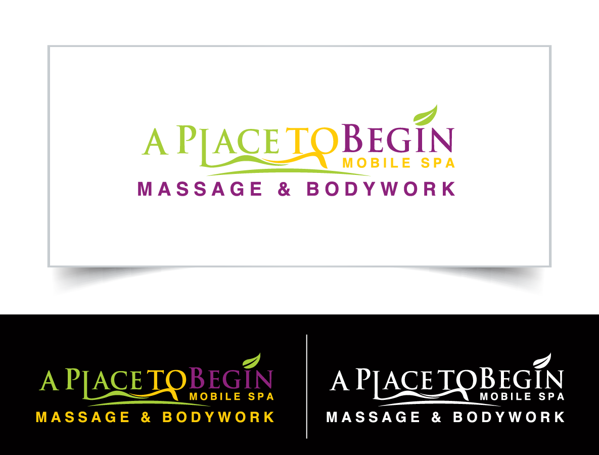 logo redesign with minor changes - Massage Therapy Logo
