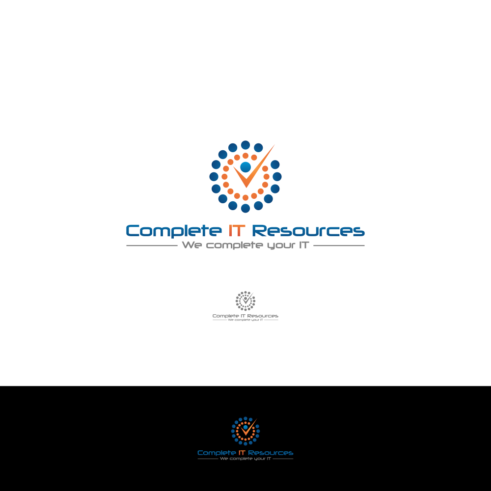 Logo for technology resourcing company - Consulting Logo