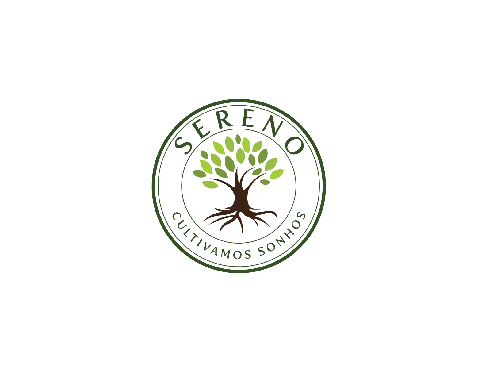 Logo of cultivation trees for landscaping - Home and Garden Logo