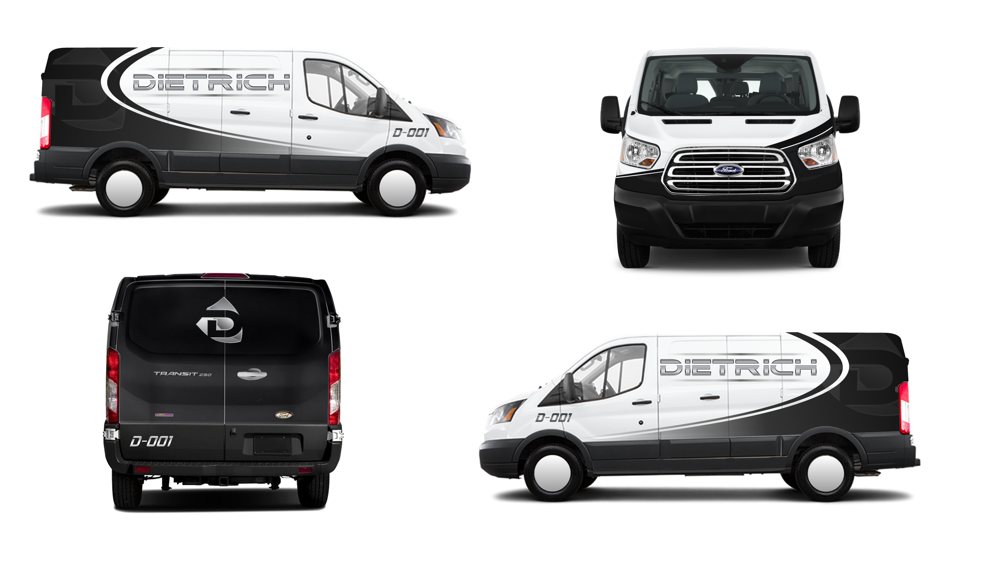 Courier Van Design/Wrap - Transportation