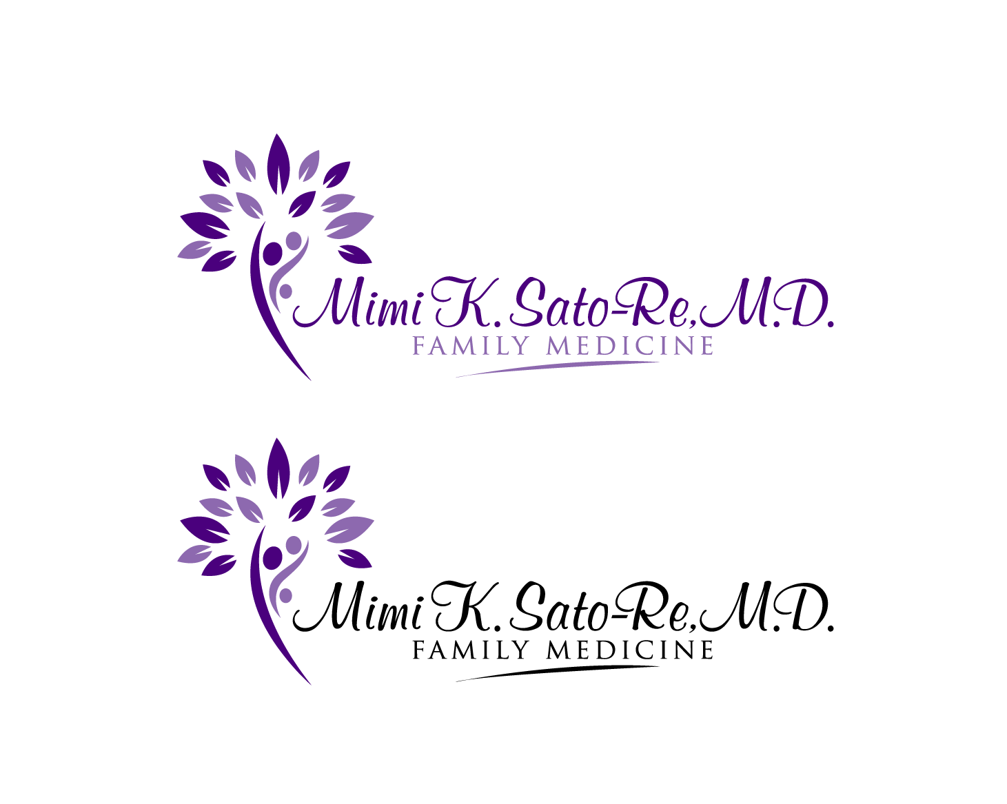 Logo for a family practice physician - Medical Logo