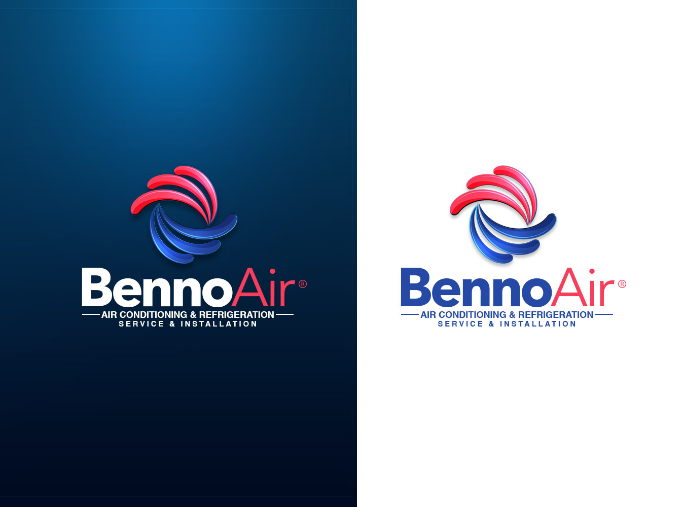 Modern design for an air conditioning service and installation company  - Trade Logo