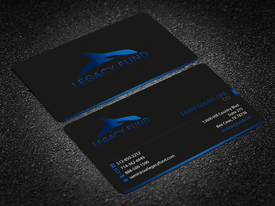 Stationary and Business Cards for Hedge Fund - Financial Services