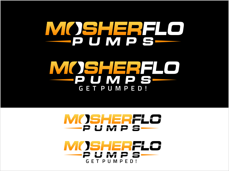 Updated Logo for Mosherflo Pumps, LLC. --Manufacturer and Field Service for Rotating Equipment - Manufacturing Logo