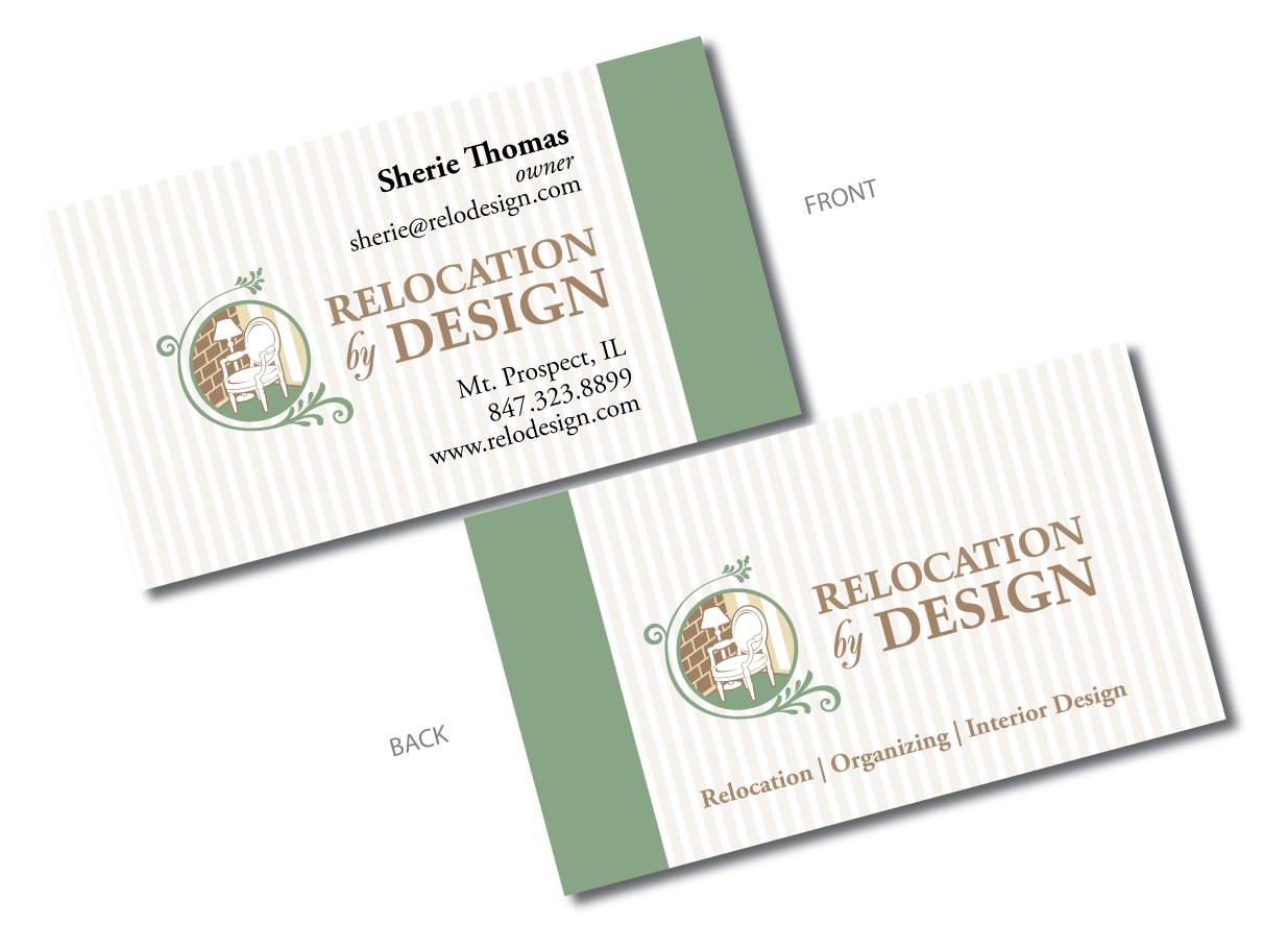 "Business Card for ""Relocation by Design"" - Miscellaneous"